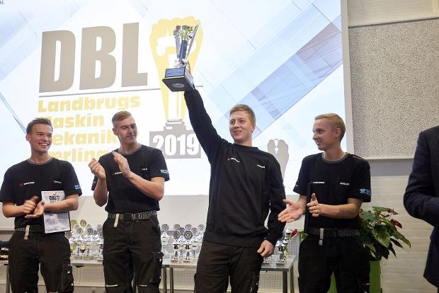 Photo: DBL - Agricultural Machine Mechanic 2019 – Danish Association for Construction and Building has delivered the photo.